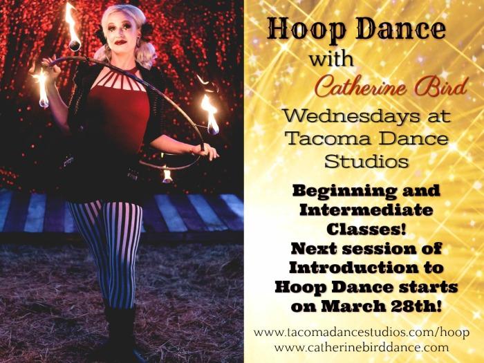 Sparkly Hoop Dance